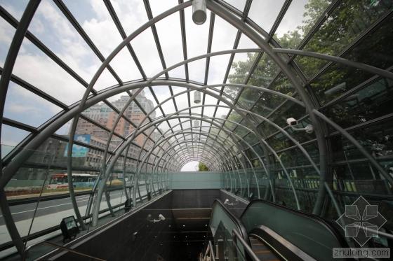 台北顶埔捷运站内部实景图-台北顶埔捷运站第6张图片
