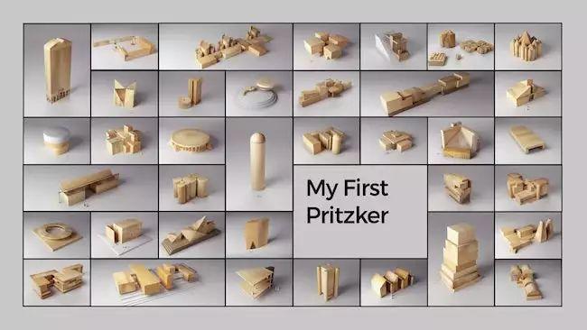 用积木玩转41位建筑大师的作品!