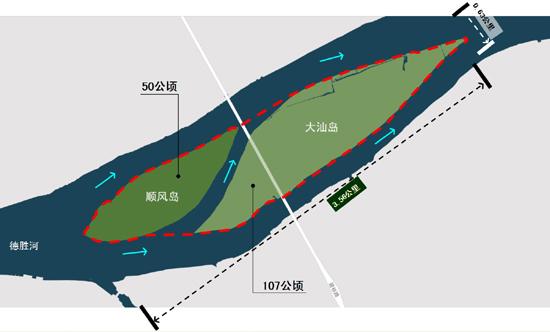 大汕岛,顺风岛概念性规划