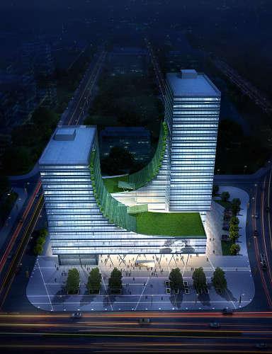青岛中科智创业广场