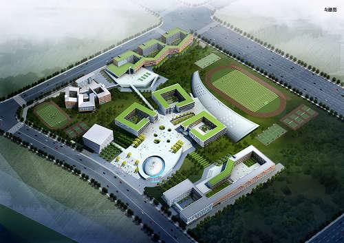 新疆喀什教育产业园-深圳市瀚旅建筑设计顾问有限公司