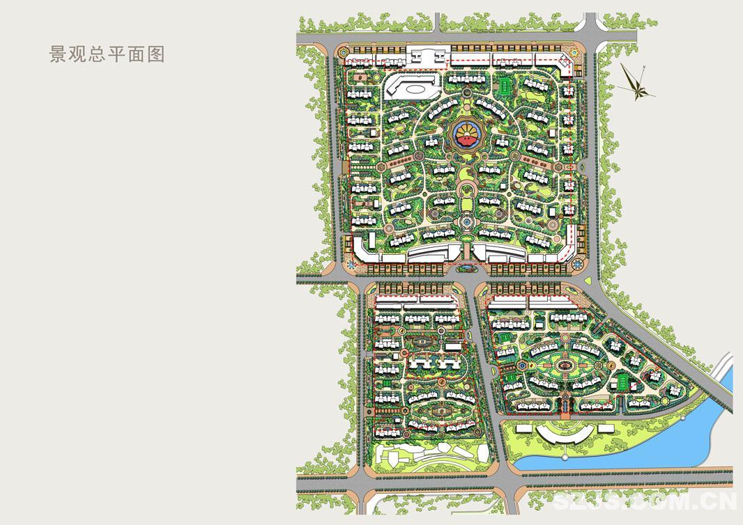 b02景观总平面图