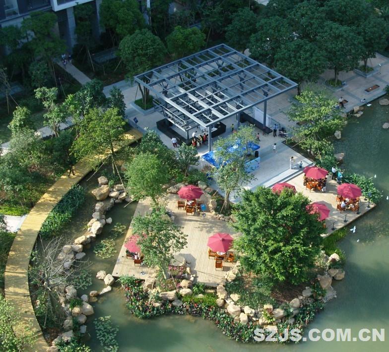 """中信红树湾北区的景观设计:奥雅公司探索""""现代岭南""""景观的设计实践"""
