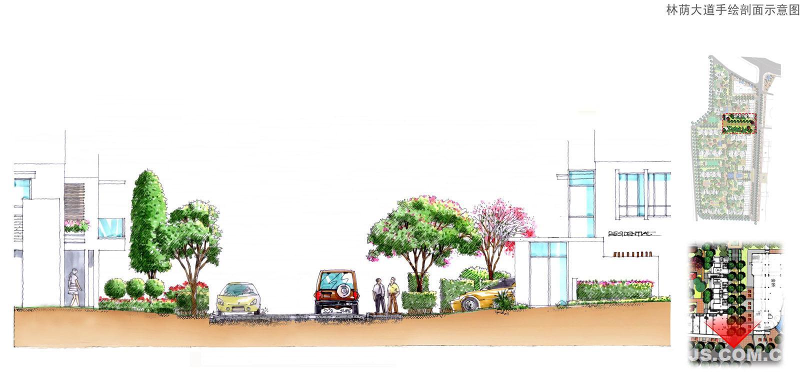 理田设计——汕尾京海凤凰城;; 会展室内设计效果图图片分享; 手绘