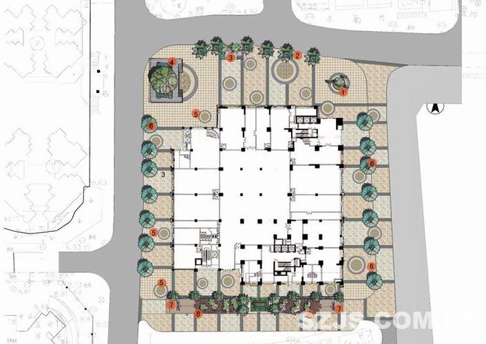 05商业街平面图