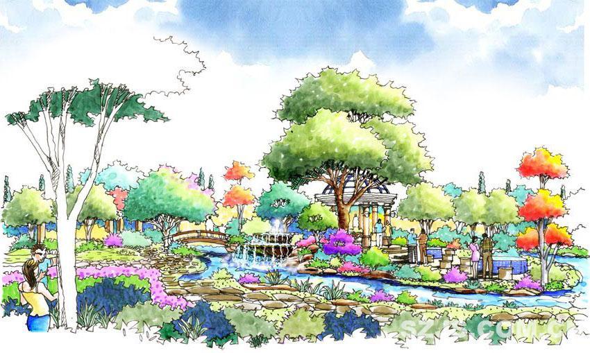 08私家园林效果图