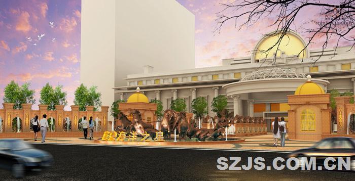 理田设计——蓝鼎海洋之星温泉酒店
