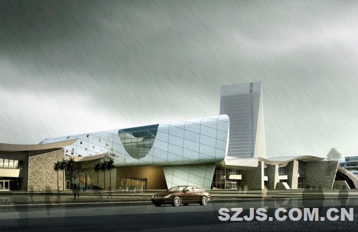 郴州市会展中心会展馆-广州市景森工程设计顾问有限