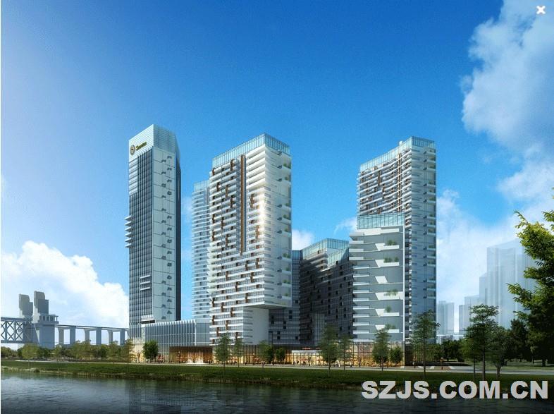 南京明发滨江商业广场-深圳市瀚旅建筑设计顾问有限