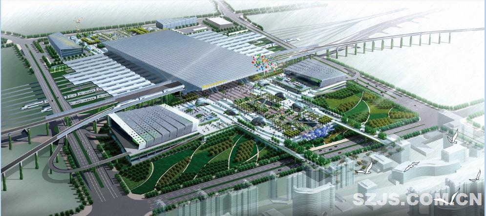 深圳北站交通枢纽景观图片