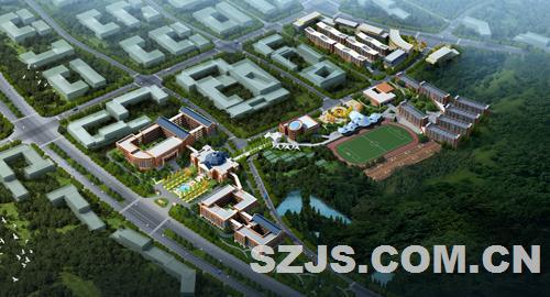 南京三江学院吉山校区-深圳市哈克建筑设计有限公司