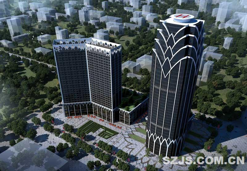 鹰潭大厦-深圳市联合创艺建筑设计有限公司-深圳建设