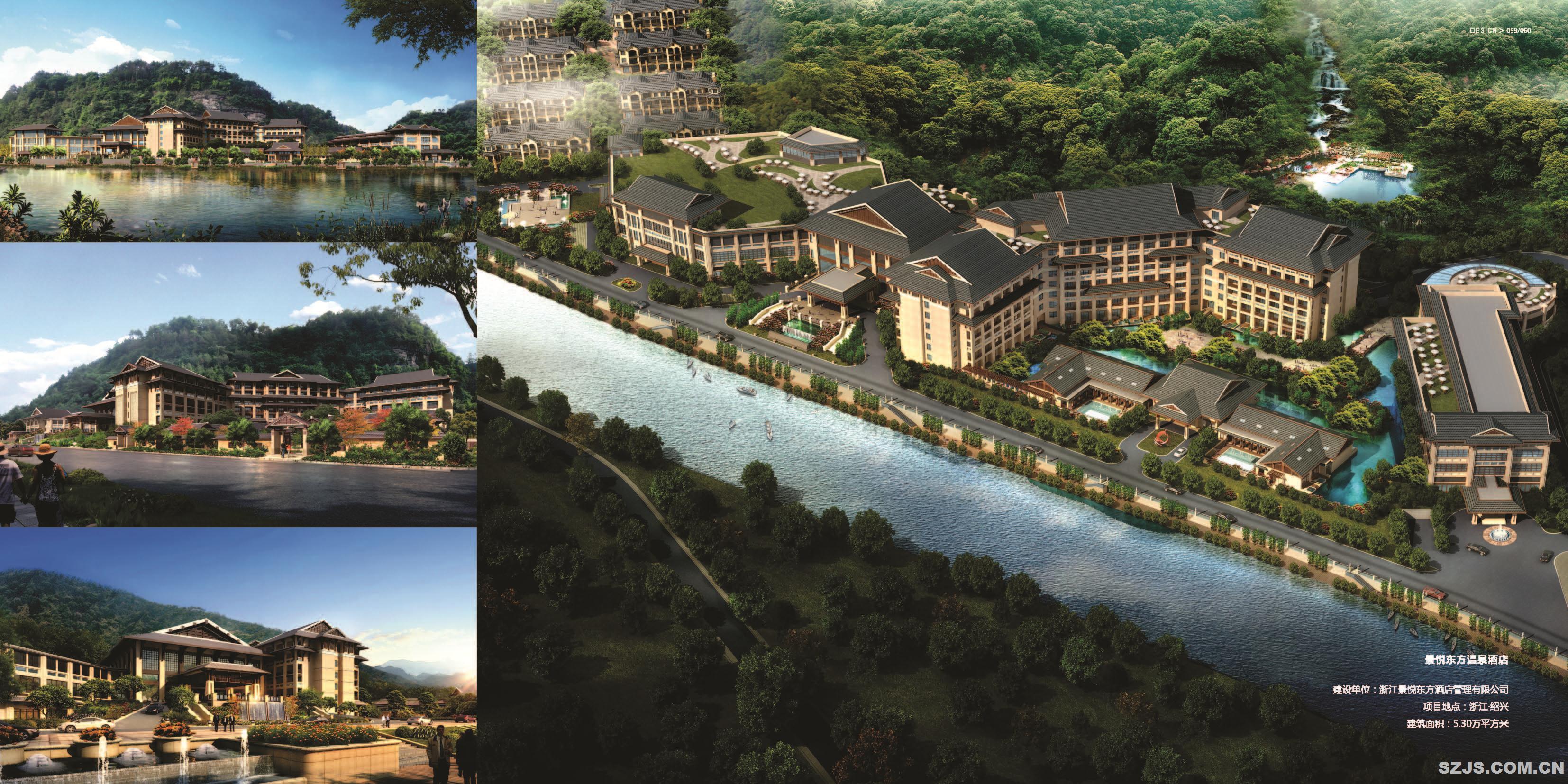 作品名称:景悦东方温泉酒店 设计单位:作品类型:民用建筑 工程地点