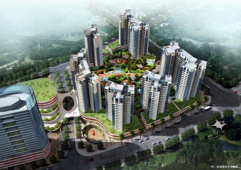 重庆万州江南水岸新都-深圳市中汇建筑设计事务所-网