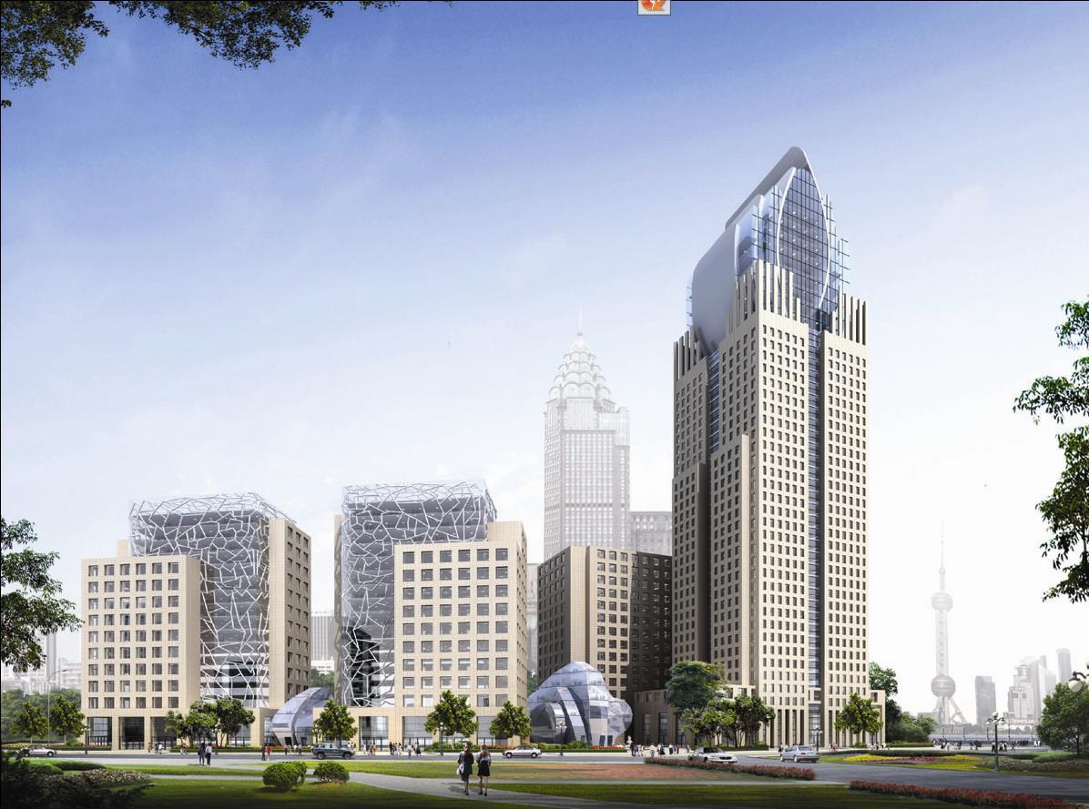 上海外滩鼎鼎金融大厦外立面设计方案-德国sic建筑处
