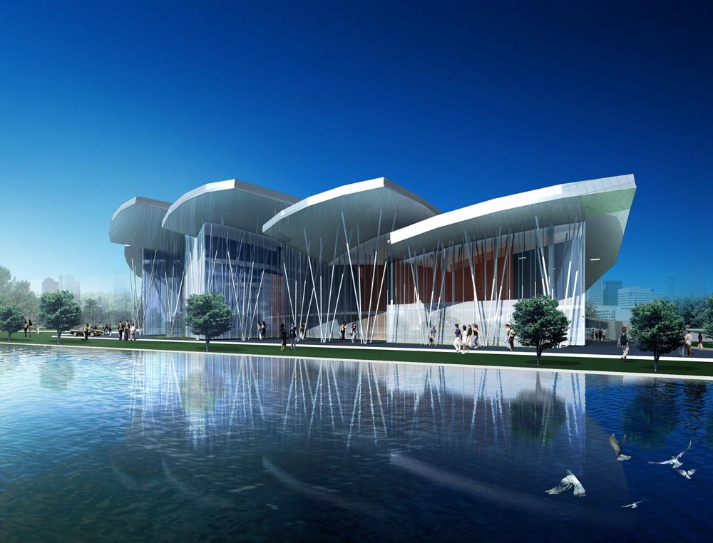 宁波市江东区行政办公中心-德国sic建筑设计责任有限