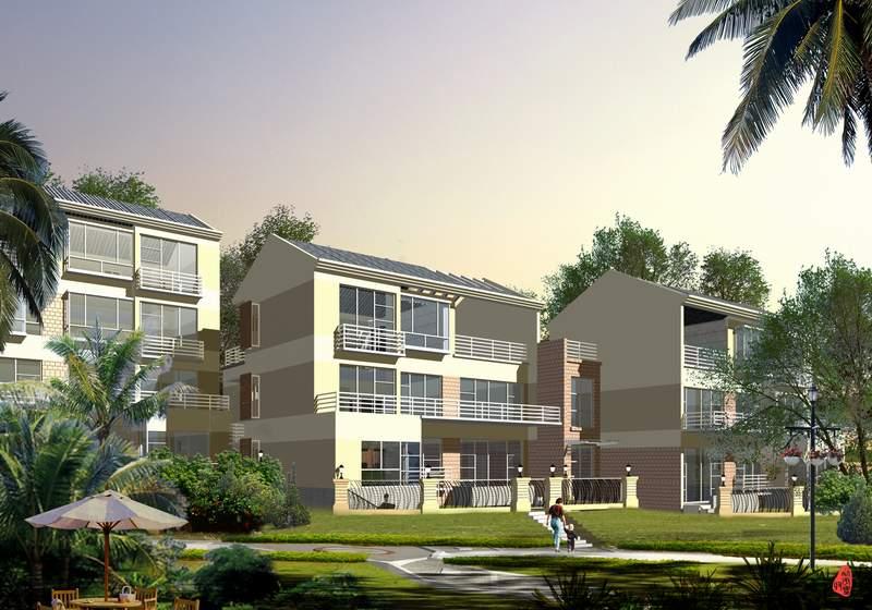 山地住宅区景观设计