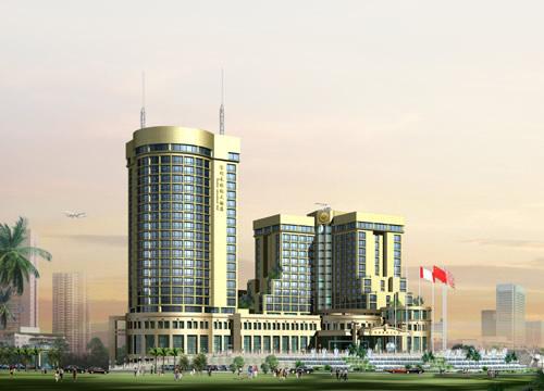 大厦 建筑 平面图 500_360