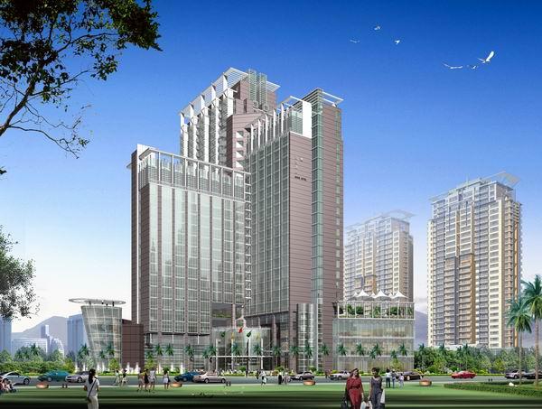 百合酒店-深圳市粤鹏建筑设计有限公司-深圳建设网