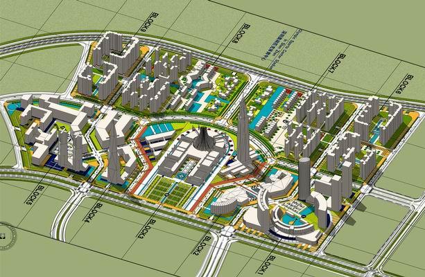 核心区规划城市设计
