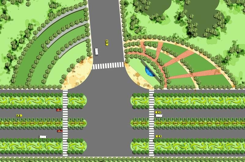 园区景观节点设计