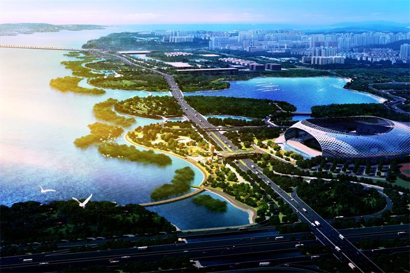 深圳湾公园(深圳湾滨海休闲带)设计