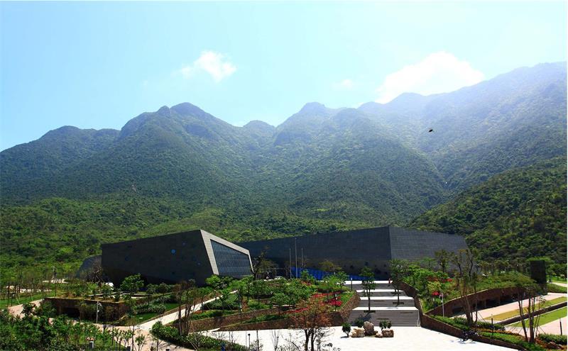 深圳大鹏半岛国家地质公园揭碑开园建设澳门永利网上赌场景观设计